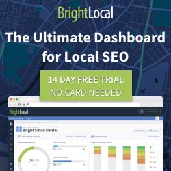 Wordpress Bright Local SEO TrendStrategics Topeka Website Design